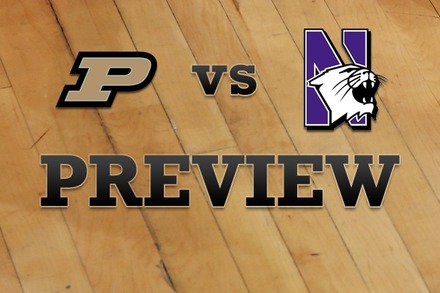 Purdue vs. Northwestern: Full Game Preview