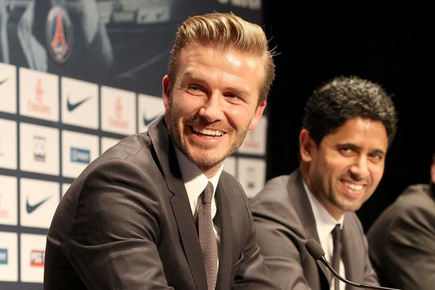 David Beckham Steals the Show on Transfer Deadline Day