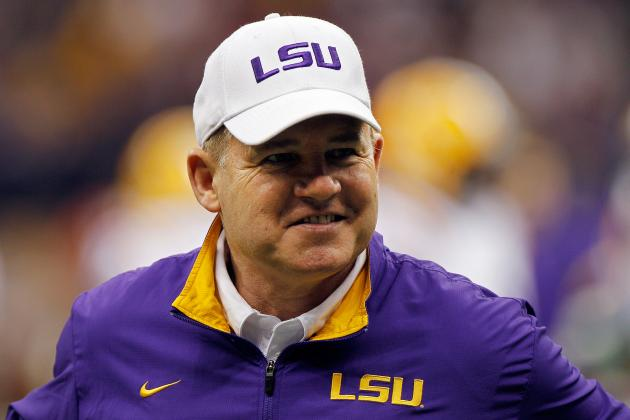 LSU Coach Les Miles Noticeably Absent from ESPN's List of Top Recruiters