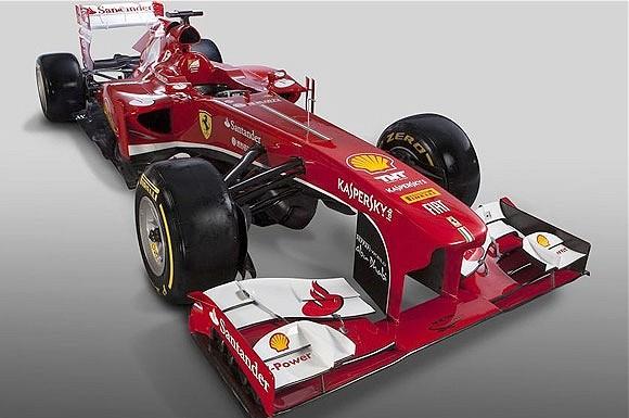 Ferrari Unveil 2013 Formula 1 Car