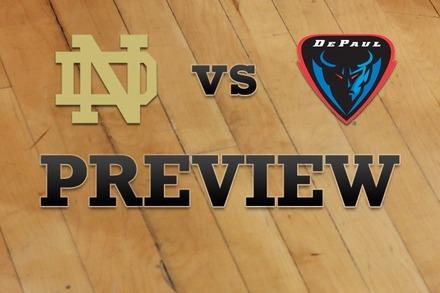 Notre Dame vs. DePaul: Full Game Preview