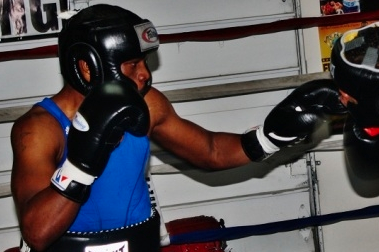 Photos: Bogere Training Super Hard for Abril Title Fight