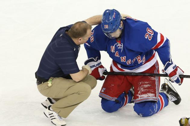 Kreider Skates Again but Not Likely to Play at TB