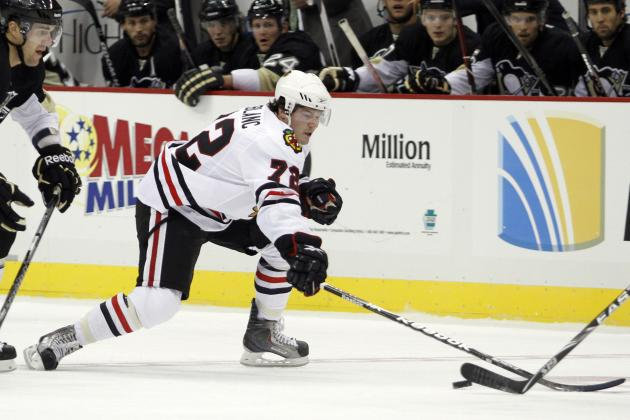 Blackhawks Trade Peter LeBlanc to Washington