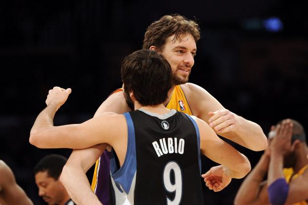 Ricky Rubio Says Pau Gasol Is 'More Than Welcome' on the Minnesota Timberwolves