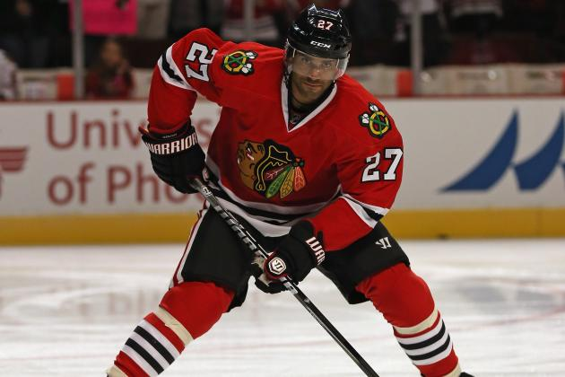 Blackhawks' Johnny Oduya Thanks Bangkok for Getting Him Ready