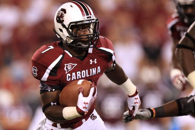 South Carolina Football Players Step Up to the Plate