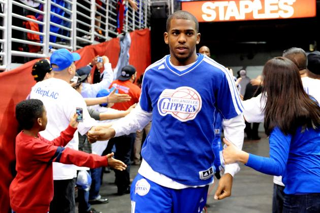 Chris Paul Named Captain for All-Star Saturday