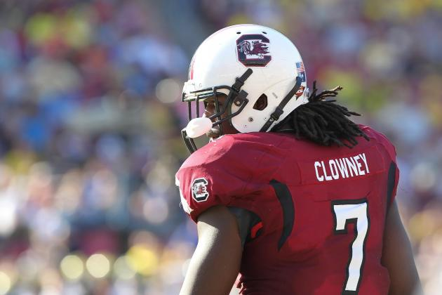Spurrier Not Worried About Clowney Getting Injured