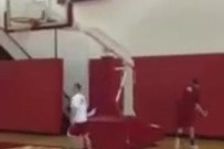 NC State Player Hits Sick Trick Shot