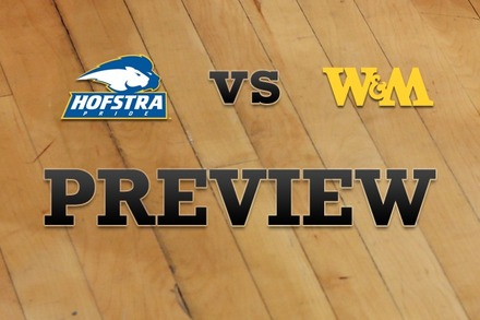Hofstra vs. William & Mary: Full Game Preview