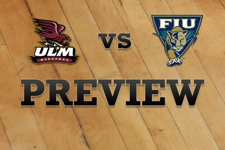Louisiana-Monroe vs. FL Internationial: Full Game Preview