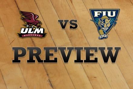 Louisiana-Monroe vs. FL Internationial: Full Game Preview