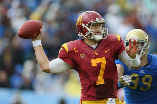 Trojans' Barkley: I'm No Less of a QB This Year