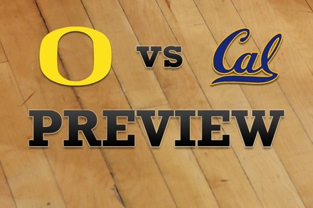 Oregon vs. California: Full Game Preview
