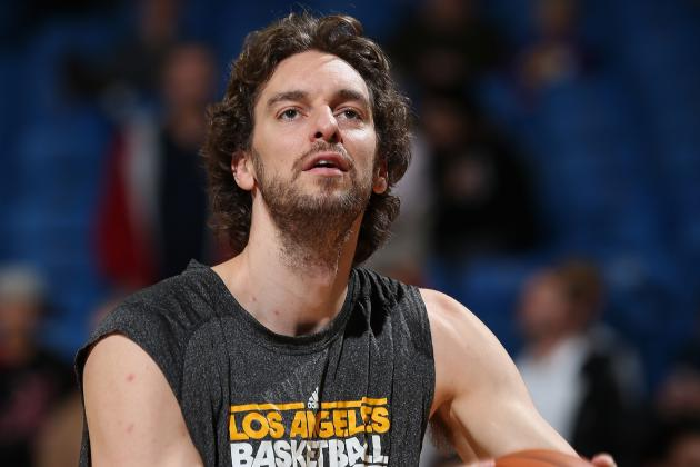 "Pau Gasol Sarcastically Calls His Starting Role ""exciting"" Against Wolves"