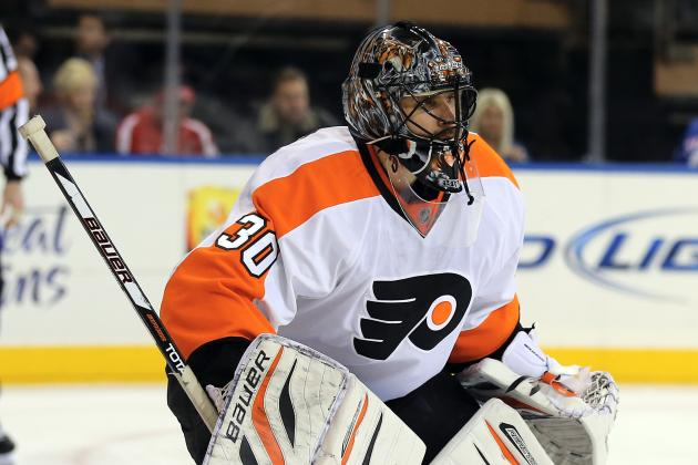 Flyers Searching for Offense to Back Bryzgalov