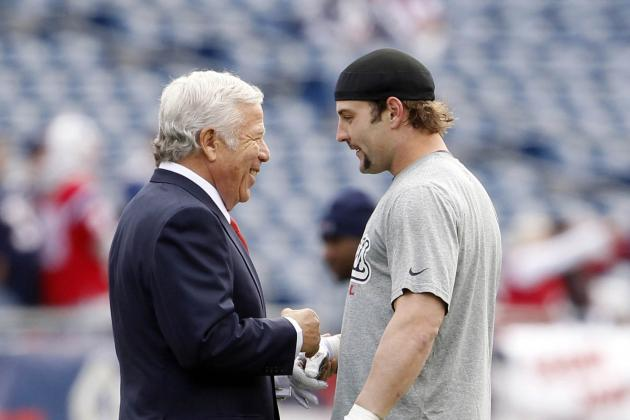 Robert Kraft on Wes Welker: 'We Want Him Here'