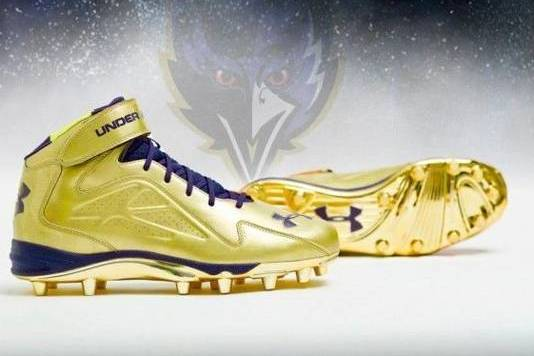 These Are the Super Bowl Cleats Ray Lewis Is Wearing