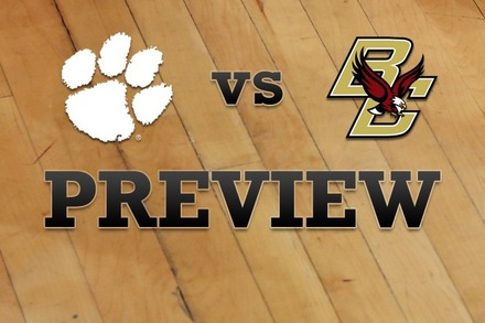 Clemson vs. Boston College: Full Game Preview