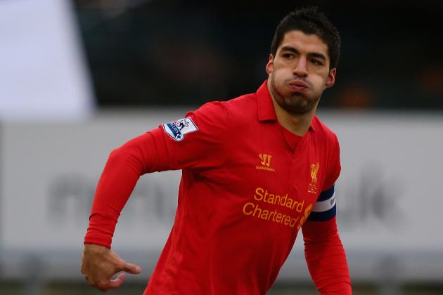 Luis Suarez Shrugs off Rumours Linking Him with Bayern Munich