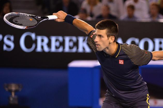 Djokovic Gives Serbia 2-0 Lead over Belgium