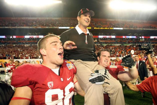 Jim Harbaugh Could Have Been the Head Coach at Tulane Not Stanford