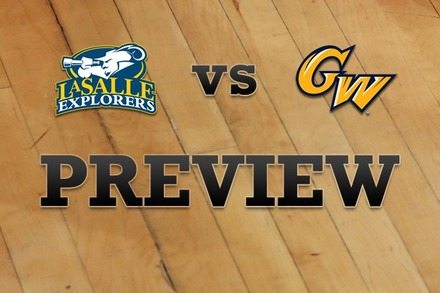La Salle vs. George Washington: Full Game Preview