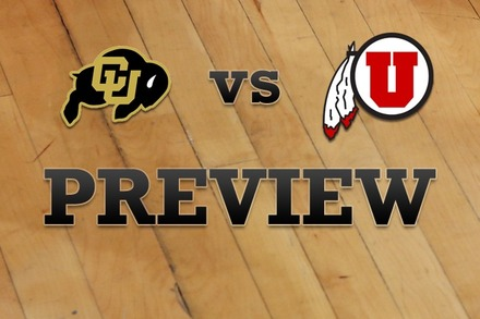 Colorado vs. Utah: Full Game Preview