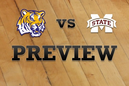 LSU vs. Mississippi State: Full Game Preview