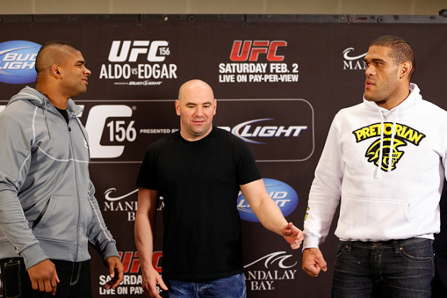 UFC 156 Video: Overeem to Silva at Staredown, 'I'm Going to F---ing Destroy You'