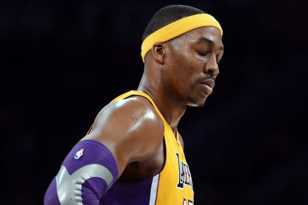 Dwight Howard Injury: Lakers' Playoff Hopes Go Down the Drain with Big Man Hurt