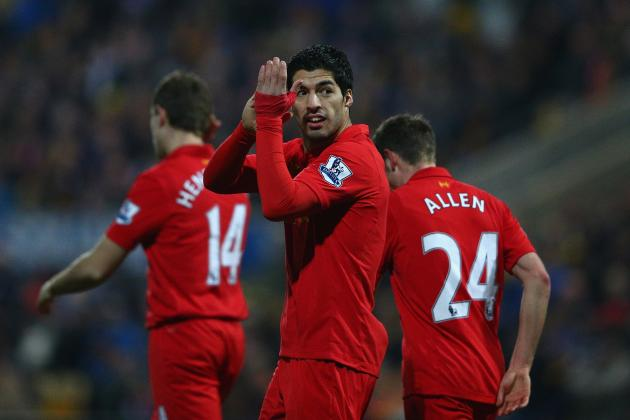 Mancini Eyes Suarez to Replace Balotelli
