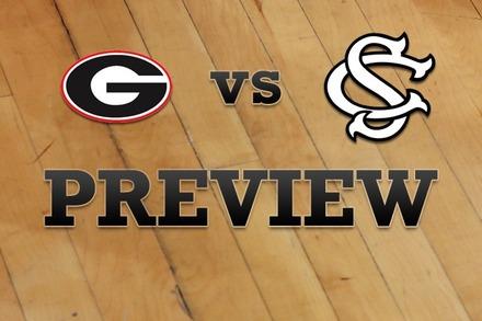 Georgia vs. South Carolina: Full Game Preview