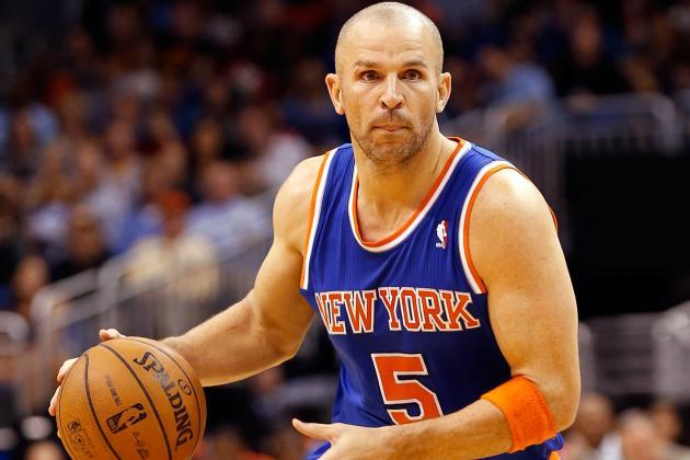 Jason Kidd Will Start Tonight vs. Bucks