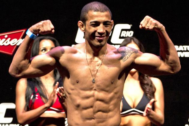 UFC 156 Weigh-in Results for Jose Aldo vs. Frankie Edgar Fight Card