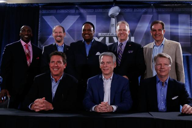 Super Bowl 2013 Broadcasters: Full Breakdown of CBS' Broadcast Team