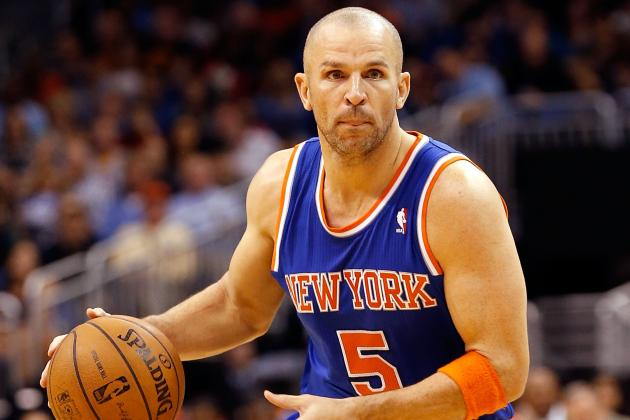 Knicks' Kidd (back) Gets Start Against Bucks
