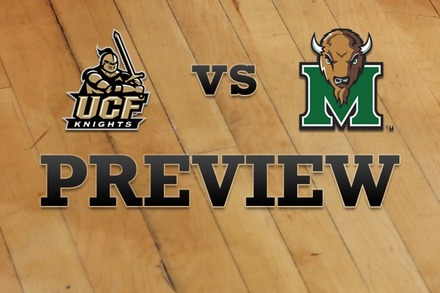 UCF vs. Marshall: Full Game Preview