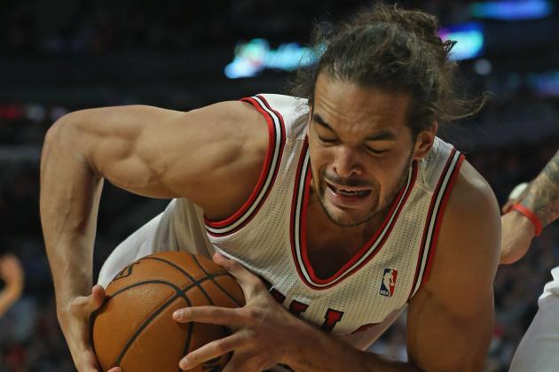 Joakim Noah out for Bulls Friday with Plantar Fasciaitis