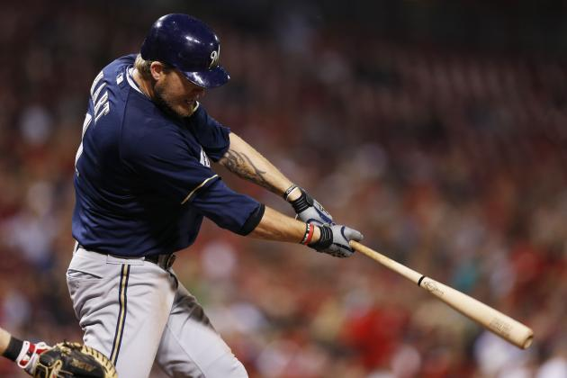 Brewers' Hart (knee): Late-April return realistic