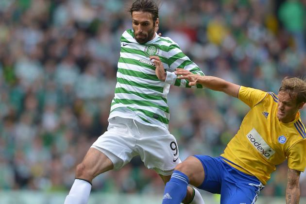 Celtic Striker Samaras Struggling to Be Fit for Juventus Clash