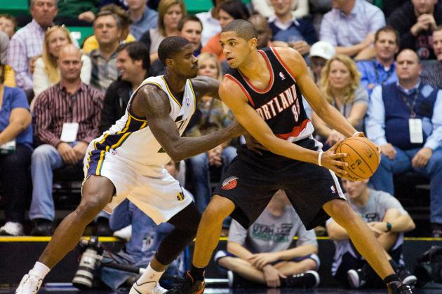 NBA Gamecast: Trail Blazers vs. Jazz