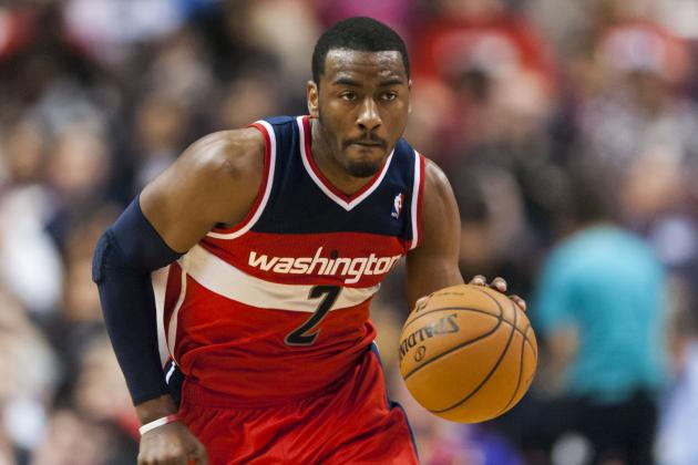 John Wall Suffers Strained Left Shoulder