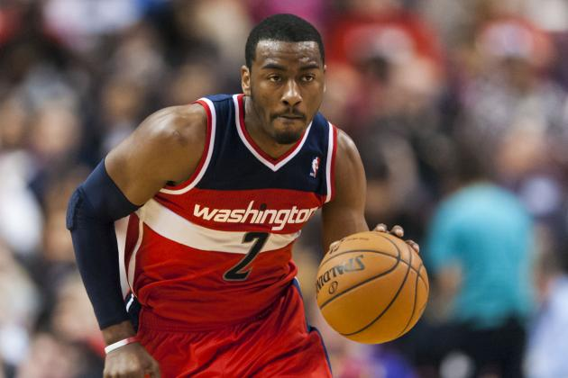 John Wall Returns to Game vs. Grizzlies