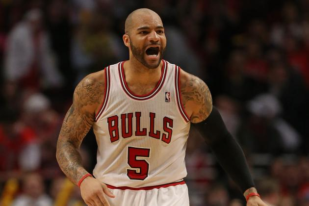 Should Chicago Bulls Shop Carlos Boozer Now That He Has Value Again?