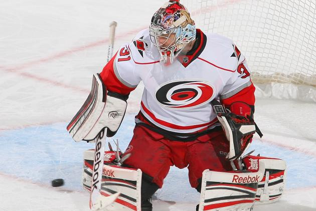 E. Staal's Goal Backs Ellis as Canes Blank Sens
