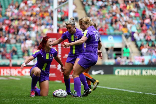 IRB Women's Sevens Rugby: Day One Results from Houston