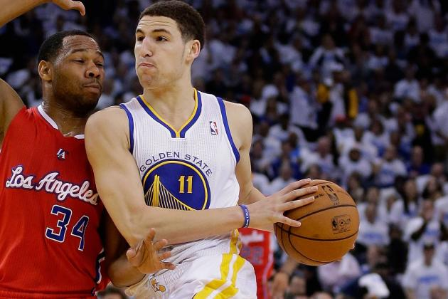 Golden State Warriors Guard Klay Thompson Learning His Lessons
