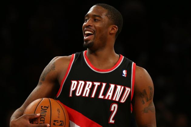 Wesley Matthews Suffers Sprained Ankle
